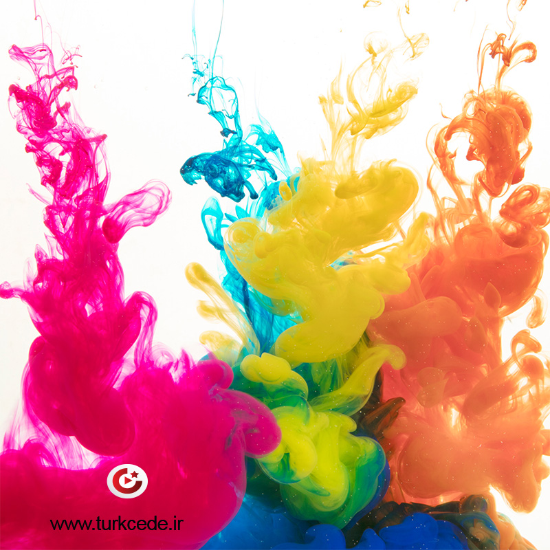 رنگها به زبان ترکی استانبولی
